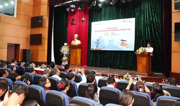 Bộ trưởng Nguyễn Ngọc Thiện nhấn mạnh giải pháp phát huy hiệu quả của Dự ánô tô thư viện lưu động
